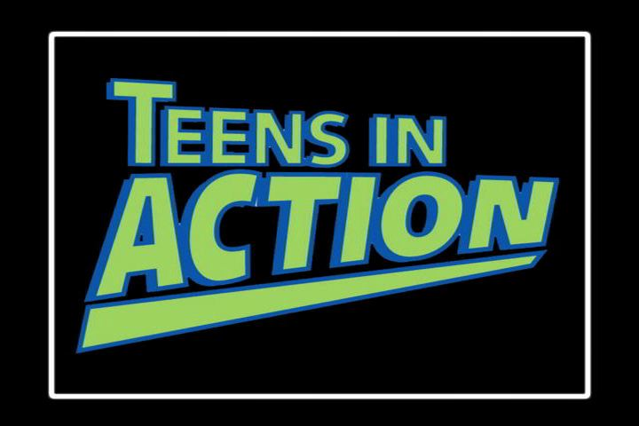 Teens on action