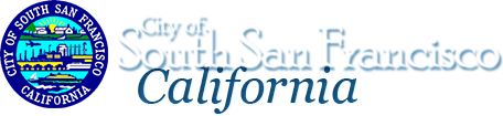 City of South San Francisco header