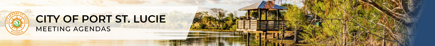 City of Port St. Lucie header