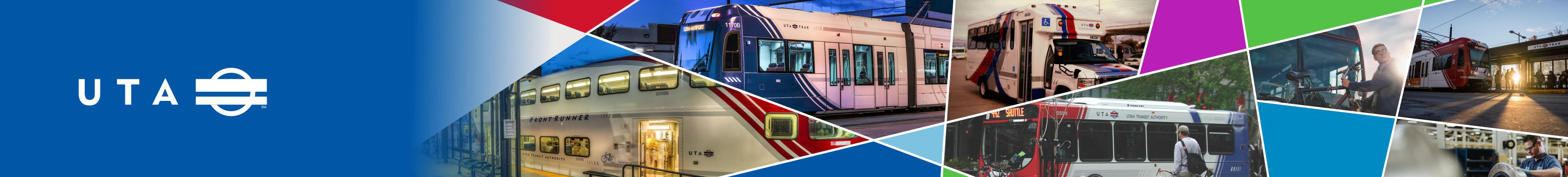 Utah Transit Authority header